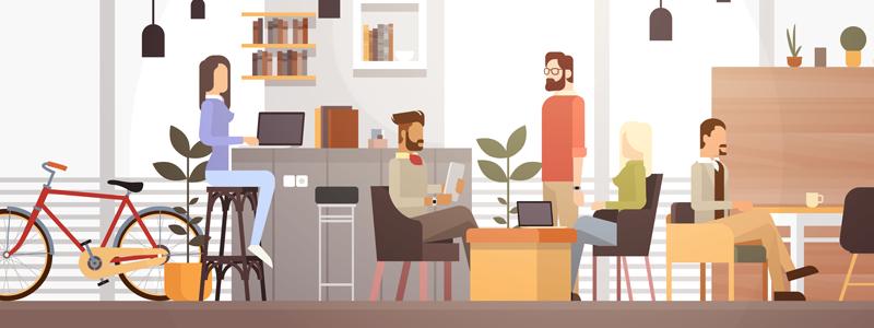 Co-working iroda