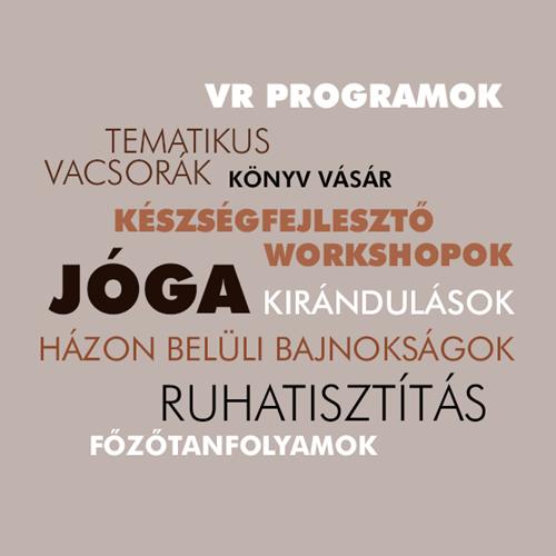 Példák irodai közösségi programokra