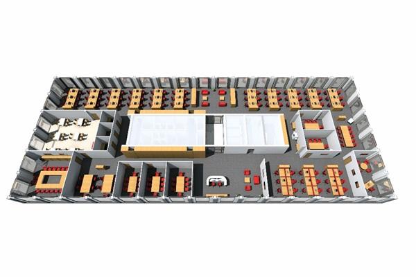 Terv az iroda teljes kialakitásáról