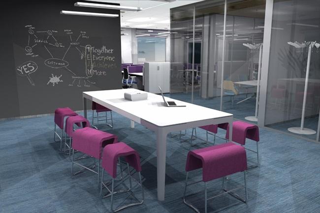 Koncepció az irodai kialakításra