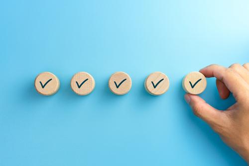 1. Még egy átadás-átvétel is könnyen áthidalható, ha konkrét listával támogatjuk meg a folyamatot.